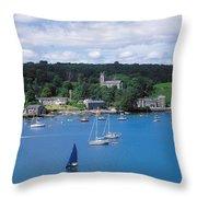 Castletownsend, Co Cork, Ireland Throw Pillow