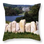 Castlewellan Castle, Castlewellan, Co Throw Pillow