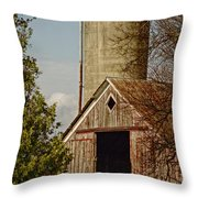 Castorland Barn Throw Pillow