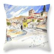 Castrillo De Duero In Spain 01 Throw Pillow