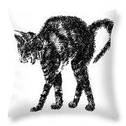 Cat-artwork-prints-2 Throw Pillow