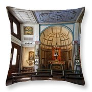 Cataldo Mission Altar And Interior Throw Pillow