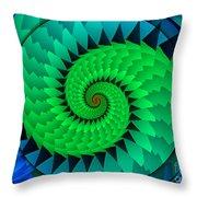 Catch The Dragon Throw Pillow