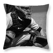 Catcher Posey Throw Pillow