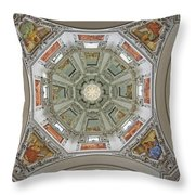 Cathedral Dome Interior, Close Up Throw Pillow