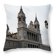 Cathedral Morning Throw Pillow
