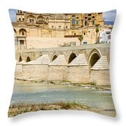 Cathedral Mosque In Cordoba Throw Pillow