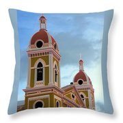 Cathedral On The Square 2 Throw Pillow