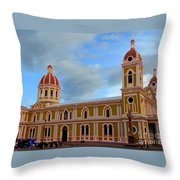 Cathedral On The Square Throw Pillow
