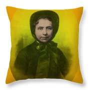 Catherine Booth, Co-founder Salvation Throw Pillow