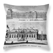 Catherine Palace, 1761 Throw Pillow