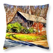 Catoctin Visitor Center Throw Pillow