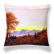Catskills Throw Pillow