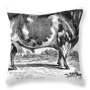 Cattle, 1867 Throw Pillow