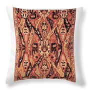Caucasus: Carpet, C1680 Throw Pillow