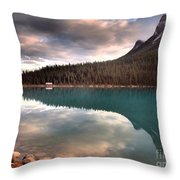 Caught In Reflections Throw Pillow