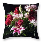 Caught In The Light Throw Pillow