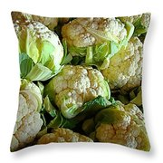 Cauliflower Throw Pillow