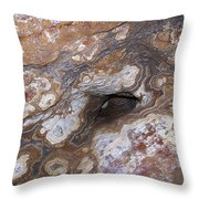 Cave Formations 17 Throw Pillow