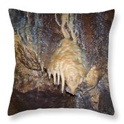 Cave Formations 31 Throw Pillow