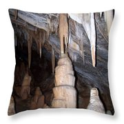 Cave Formations 44 Throw Pillow