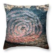 Cave Painting At Uluru Throw Pillow