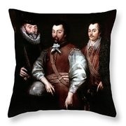 Cavendish Drake And Hawkins Throw Pillow