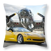 Cc 13 Throw Pillow