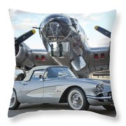 Cc 17 Throw Pillow