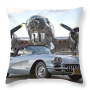 Cc 21 Throw Pillow