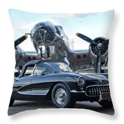 Cc 23 Throw Pillow