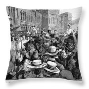 Cecil John Rhodes Throw Pillow
