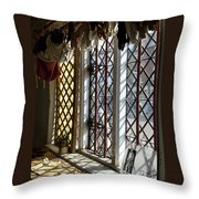Cecilenhof Palace Window Throw Pillow