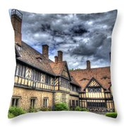 Cecilienhof Palace At Neuer Garten Berlin Throw Pillow