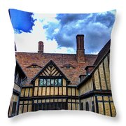 Cecilienhof Palace At Neuer Garten Throw Pillow