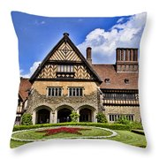 Cecilienhof Palace Berlin Germany Throw Pillow