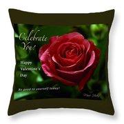 Celebrate You Throw Pillow
