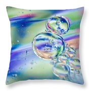 Celestial Circles Throw Pillow