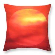 Celestial Fire Throw Pillow