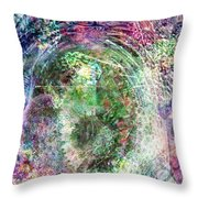 Cell Dreaming 2 Throw Pillow