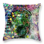 Cell Dreaming 3 Throw Pillow