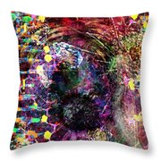 Cell Dreaming 4 Throw Pillow