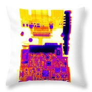 Cell Phone Throw Pillow