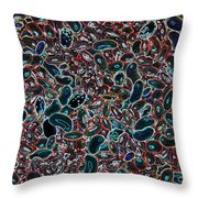 Cells. Abstract #1 Throw Pillow