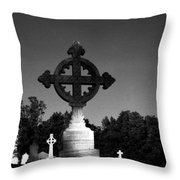 Celtic Cross- Natchez Mississippi Throw Pillow