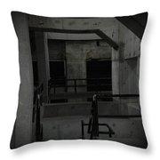 Cement Deco Throw Pillow