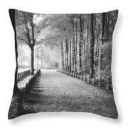Cemetery At Ypres  Throw Pillow