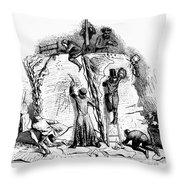 Censorship: Allegory Throw Pillow