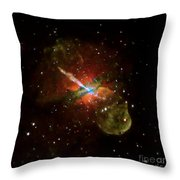 Centaurus A Throw Pillow