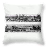 Centennial Expo, 1876 Throw Pillow by Granger